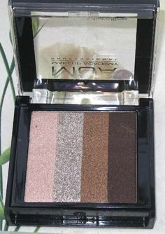 MUA, Extreme Metallics Eyeshadow Quad, Go Getter, affordable, review, good packaging, easy to blend, colors do not crease, stays long, no fallout
