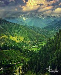 Heaven On Earth, Leepa Valley, Azad Kashmir , Pakistan.