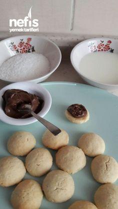 Hindistan Cevizli Sütlü Kurabiye - Nefis Yemek Tarifleri Nutella, Cereal, Pudding, Breakfast, Desserts, Food, Morning Coffee, Tailgate Desserts, Deserts