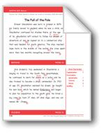 The Pull of the Pole (Gr. 5/Week 32). Download it at Examville.com - The Education Marketplace. #scholastic #kidsbooks @Karen Echols #teachers #teaching #elementaryschools #teachercreated #ebooks #books #education #classrooms #commoncore #examville