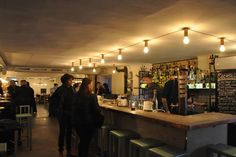 Haktet Vanster bar Stockholm. . Monday to Sat for cocktails in old prison. Buzz to get in. Hornsgatan 82