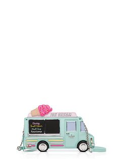 flavor of the month ice cream truck clutch - Kate Spade New York