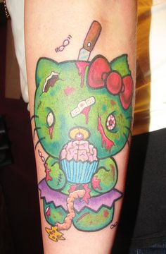 Hello Kitty Zombie by ~asuss06 on deviantART