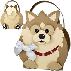 JMRush Designs: Pomeranian Dog Basket