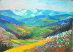 Original Painting Highlands of Ireland American Artist Homage to Paul Henry Irish Landscape, Highlands, American Artists, Impressionism, Ireland, Original Paintings, The Originals, Idea Paint, Scottish Highlands