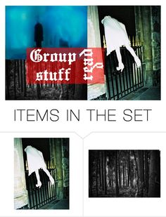 """Group Stuff, Read the D"" by lovely-random ❤ liked on Polyvore featuring art and TheRoamersSeersGroupRP"