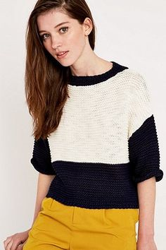 Urban Outfitters - Pull colour block