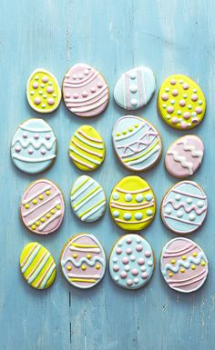 Get creative and have fun decorating these citrusy Easter biscuits - they make a delicious Easter treat for friends and family.