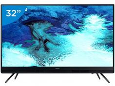 "TV LED 32"" Samsung 32K4100 - Conversor Digital 2 HDMI 1 USB Smart Tv, Usb, Samsung, Tv Led 32, Tv Videos, Artwork, Animals, Magazine, Design"