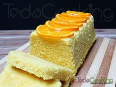 Bbizcocho de naranja que se hace en un momento al microondas en solo 20 minutos