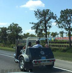 Weird Vehicles on highways in Florida