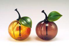 Stonefruit+Perfumes by Garrett+Keisling: Art+Glass+Perfume+Bottle available at www.artfulhome.com
