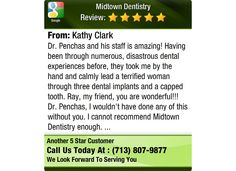 Dr. Penchas and his staff is amazing!  Having been through numerous, disastrous dental...