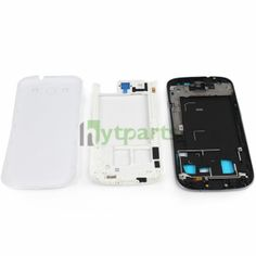 Original Full Housing Set and Buttons for Samsung Galaxy S3 i9300 White  Samsung spare parts