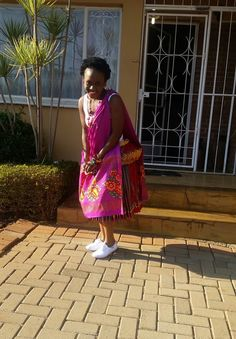 Look at that.nothing is as beautiful as Tsonga women. They are gems. Lily Pulitzer, Empire, Sari, Gems, Summer Dresses, People, Beautiful, Women, Fashion