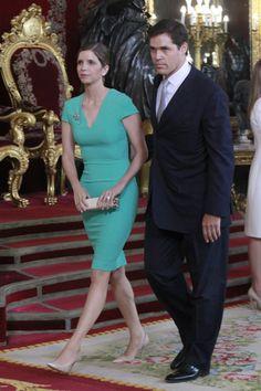 Maria Vargas recepcion Felipe VI Letizia
