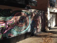 Street art in Cobble Hill, Brooklyn.