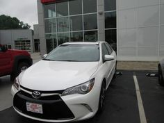 Look at the all new 2015 #Toyota #Camry purchased by Janet O'Brien of Pikeville, KY from Johnny Venters! Thank you and welcome to the Walters Toyota Nissan Family! #WaltersToyota #WaltersNissan