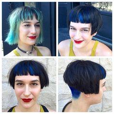 Short Bob Cuts, Short Bob Haircuts, New Haircuts, Hairstyles With Bangs, Haircut Bob, Pixie Cuts, Before And After Haircut, Super Short Hair, Extreme Hair