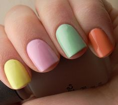 Cute nails for Easter
