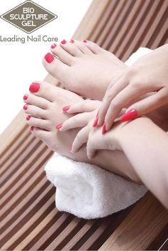 Bio Sculpture gel hands and feet avaliable at The Nail Spa www.thenailspa.com