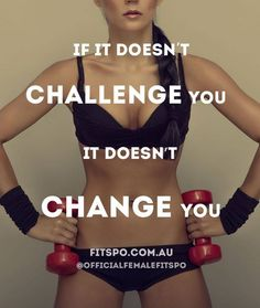 Challenge yourself!!