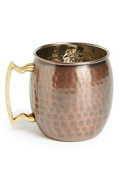Free shipping and returns on 10 Strawberry Street Copper Mug at Nordstrom.com. A burnished copper mug fashioned with an antiqued finish adds eye-catching, vintage appeal to any cocktail or dinner party.