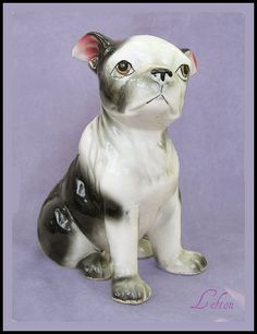 Boston Terrier Vintage Figurine There is only one American