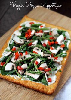 Veggie Pizza Appetiz