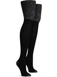 An essential addition to any sock lover's wardrobe: the basic thigh high. Whether peaking over boots, paired with an cool dress, or keeping you cozy on a lazy Sunday, these unique thigh highs will alw