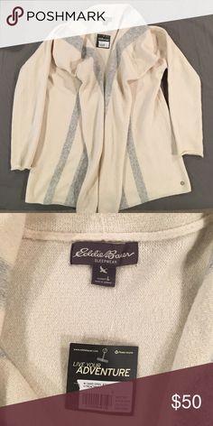 Eddie Bauer Open Cardigan NWT Brand new Eddie Bauer sweater! Perfect condition. Eddie Bauer Sweaters Cardigans