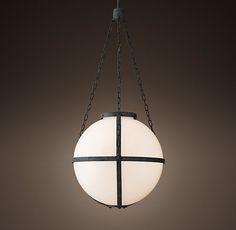 Circa 1900 Gaslight Pendant