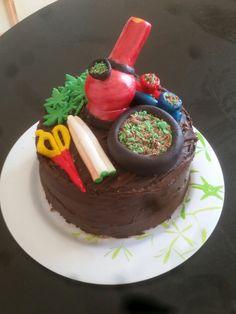 21st bong cake