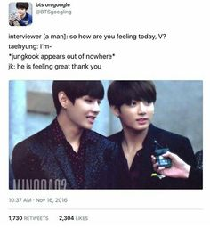 coconut head, its not nice to cut off your hyungs when they speak