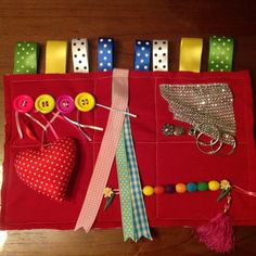 """I recently became a """"Dementia Friend"""", a national campaign from the Alzheimer's Society sponsored by the Government. I had lots of """"bits and bobs"""" in my sewing box so thought I would make a Sensory Mat for Dementia care."""