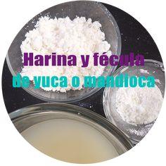 Harina y fécula de yuca o mandioca Food, Essen, Meals, Yemek, Eten