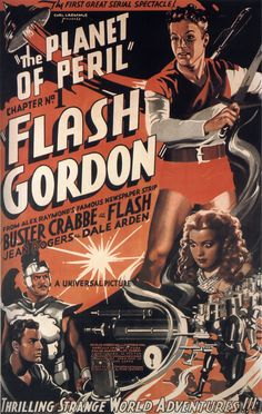 FLASH GORDON film serial - The Planet of Peril