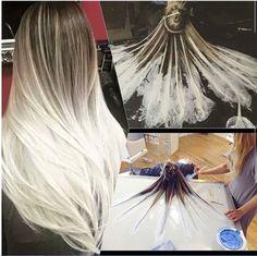 Техника окраски волос Балаяж