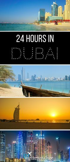 24 Hours In Dubai. From relaxing on the beach and exploring Dubai's old town, to desert safaris and checking out the views from the world's tallest building, Dubai has it all. https://www.wanderlustchloe.com/24-hours-dubai/ #dubai #dubaifashion #dubailife #holidays
