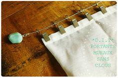 PORTANT TRINGLE SANS CLOU RIDEAU PHOTO  http://dollicious.fr/creation/diy-portants-a-ce-que-vous-voulez-muraux-sans-clous-4539