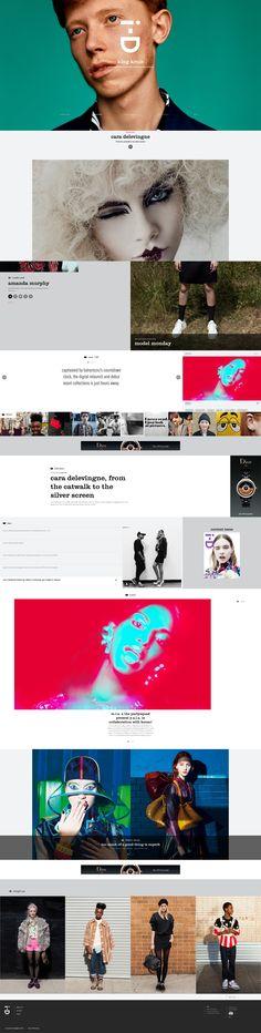 web design | i-D