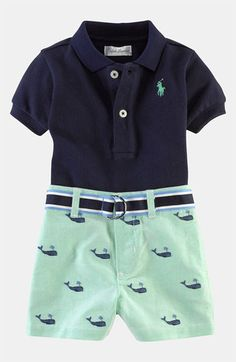 Ummm because clearly if we have boys they are going to be little preppy golfers
