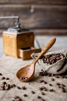 Handcrafted ash wood spoon