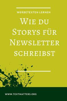 Diese Storys fehlen deinem Newsletter. Sie untermauern deine Argumente, begeistern deine Leser und sorgen für mehr Klicks. Das Beste: Du kannst sie in 5 Minuten schreiben, auch wenn du nicht Hemingway heißt. #Storytelling #Schreiben #Schreibtipps #Newsletter