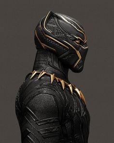 Black Panther Gold Suit - John Aslarona