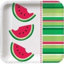 Watermelon plate.