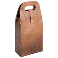 Regina Andrew Wine 2 Bottle Leather Carrier from Zinc Door on Catalog Spree, my personal digital mall.