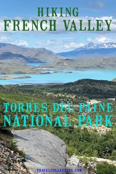 "Hike French Valley, Torres del Paine as part of the ""W"" hike or by itself in one day. All you need to know about the French Valley day hike. Past glacial lakes, the spectacular Cuernos del Paines and finish off with the French Glacier hike up the mountain for incredible views. #hikepatagonia #cuernosdelpaine #valledefrances #travelcollecting Travel Articles, Travel Advice, Patagonia Travel, Torres Del Paine National Park, Travel List, Food Travel, South America Travel, Best Hikes, Day Hike"