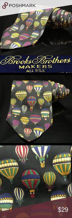 Brooks Brothers Hot air Ballon tie Brooks Brothers Hot air Ballon Brooks Brothers Accessories Ties