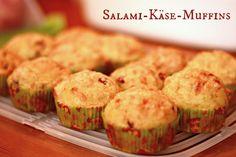 Salami-Käse-Muffins